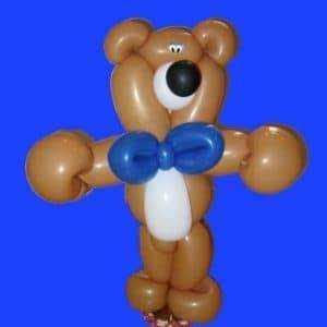 Bear balloon sculpture