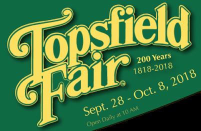 Topsfield Fairs 200th birthday Jonah's Twisters Boston