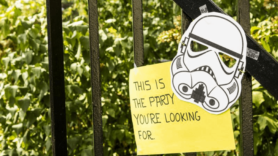 4 Star Wars Themed Ways to Celebrate Your Next Birthday