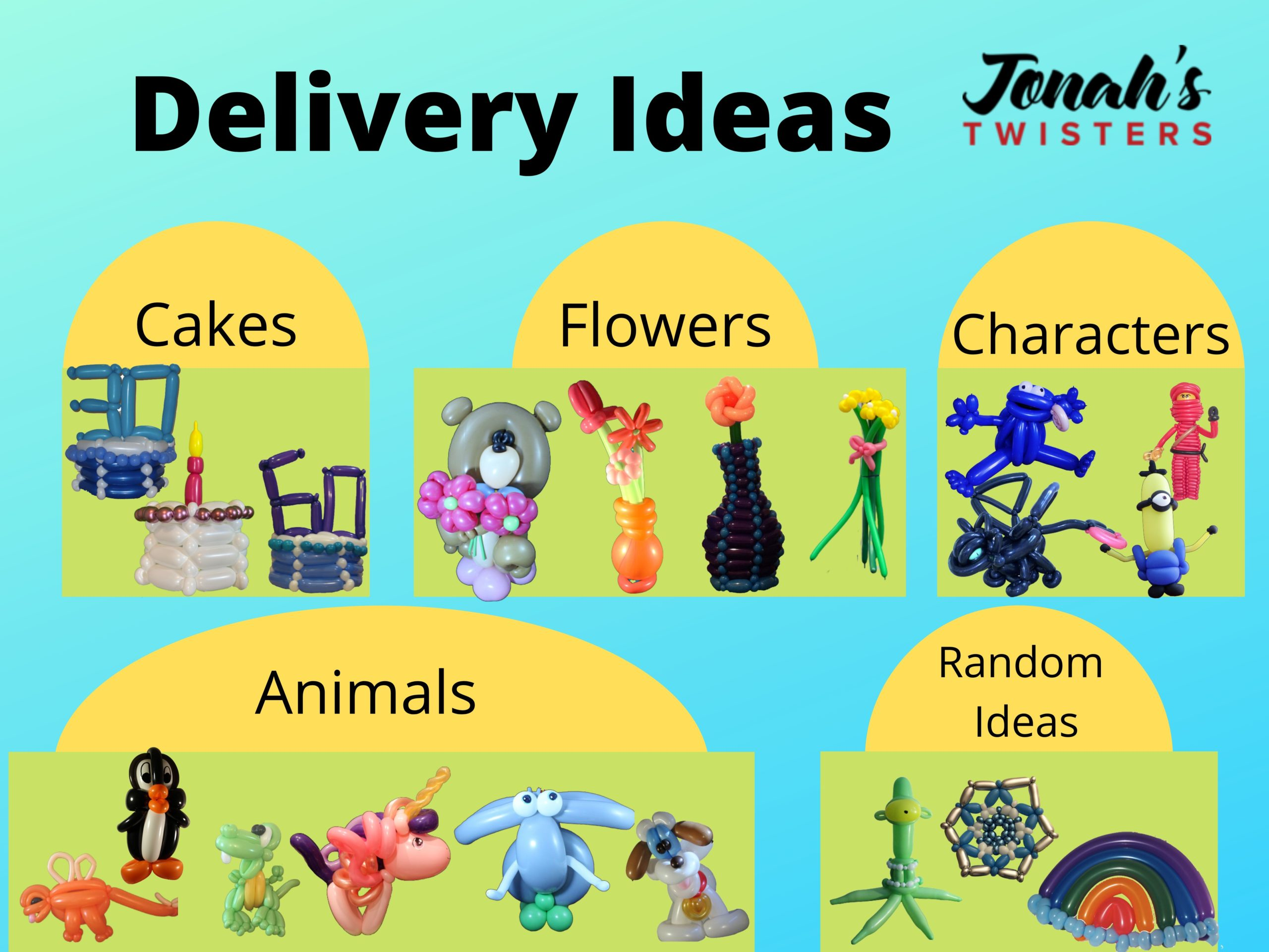 delivery items